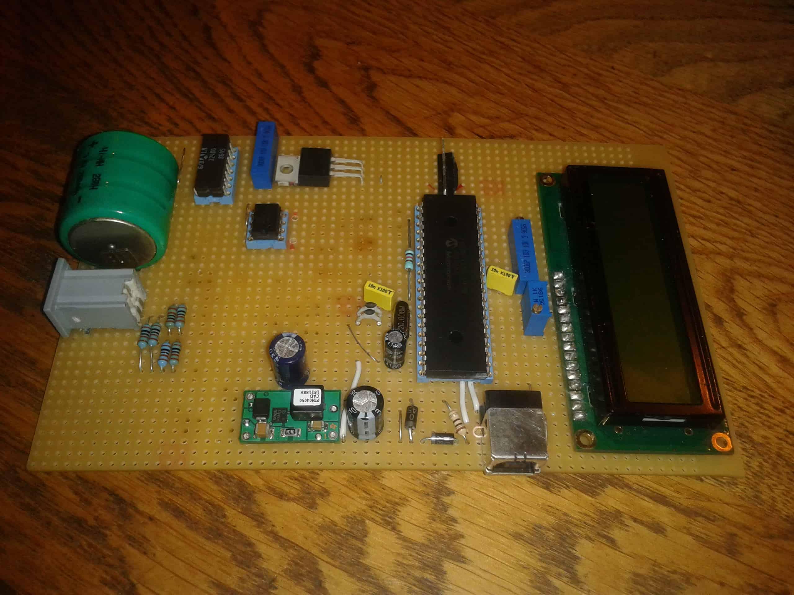 Thermomètre USB à sonde de platine