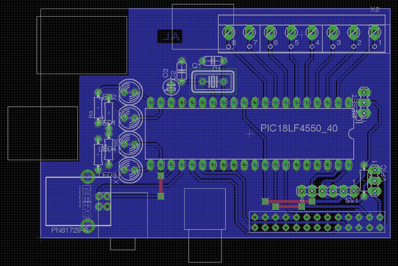 Conception d'un circuit imprimé avec Eagle