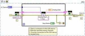 En mode autonome, le code source est compilé et téléchargé sur la cible.
