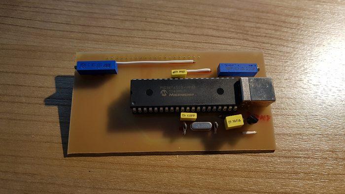 Circuit imprimé - côté composants