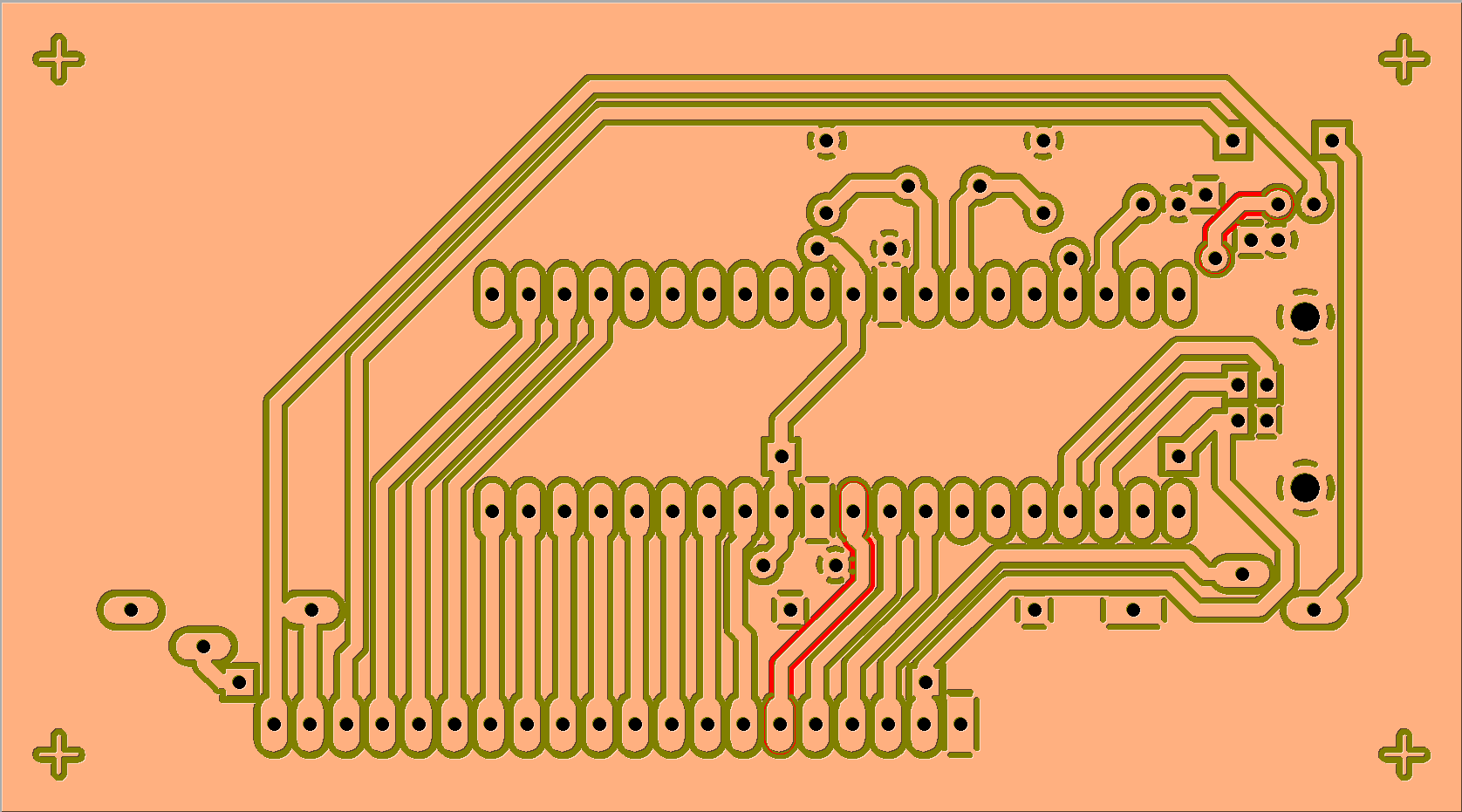 Exporter un Circuit Imprimé depuis EAGLE vers GALAAD/PERCIVAL