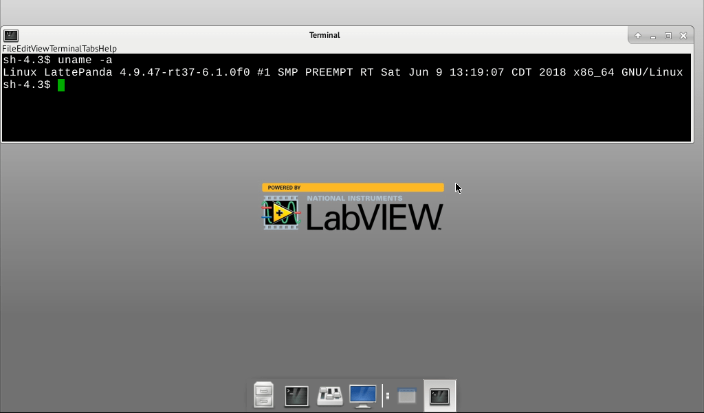 LabVIEW RT & LattePanda